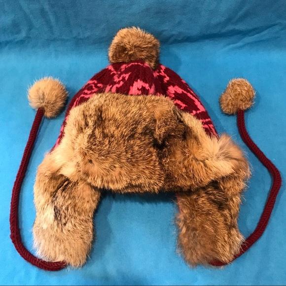 e68a5c32fe0 Coach Accessories - Coach Poppy Fur Trapper Hat M L